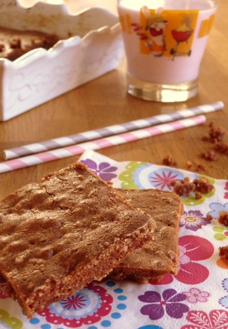 Brownies chocolat caramel et p pites de nougatine la cuisine de stephy - Faire un roux en cuisine ...