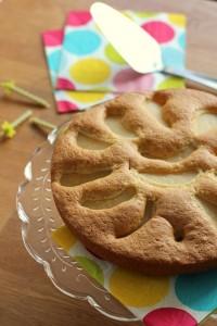 Gâteau cuillère poire 33