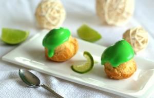 Choux crème pâtissière citron vert 44
