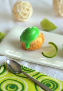 Choux crème pâtissière citron vert 77