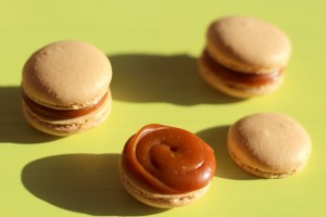 Macaron caramel au beurre salé 44
