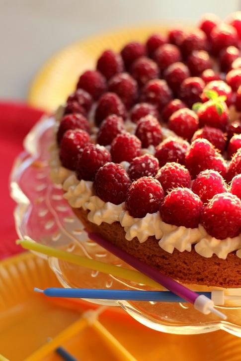 Tarte aux framboises sur palet breton et chantilly de mascarpone la cuisine de stephy - Fond de tarte palet breton ...