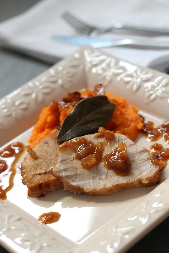 R ti de porc la bi re et pur e de carotte la cuisine - Puree de carotte maison ...