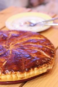 galette des rois poire caramel crème d'amande 0