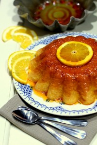 Gâteau de riz au lait à l'orange 22