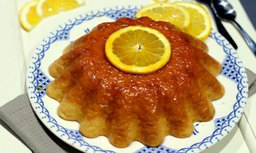Gâteau de riz au lait à l'orange
