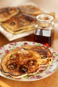 Pancakes  rhum banane raisins secs 11