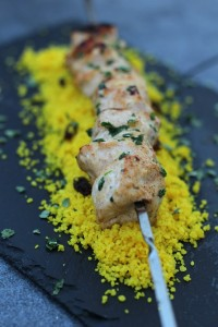 Brochettes de poulet tandoori 22