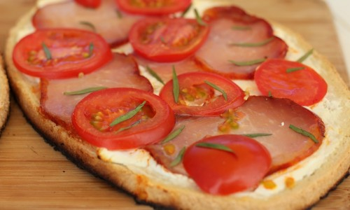 Tartines lomo petit billy tomates