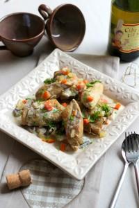 Blanquette de poulet au cidre 11