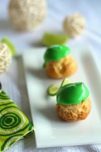 Choux crème pâtissière citron vert 11