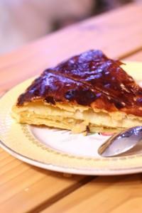 galette des rois poire caramel crème d'amande 22